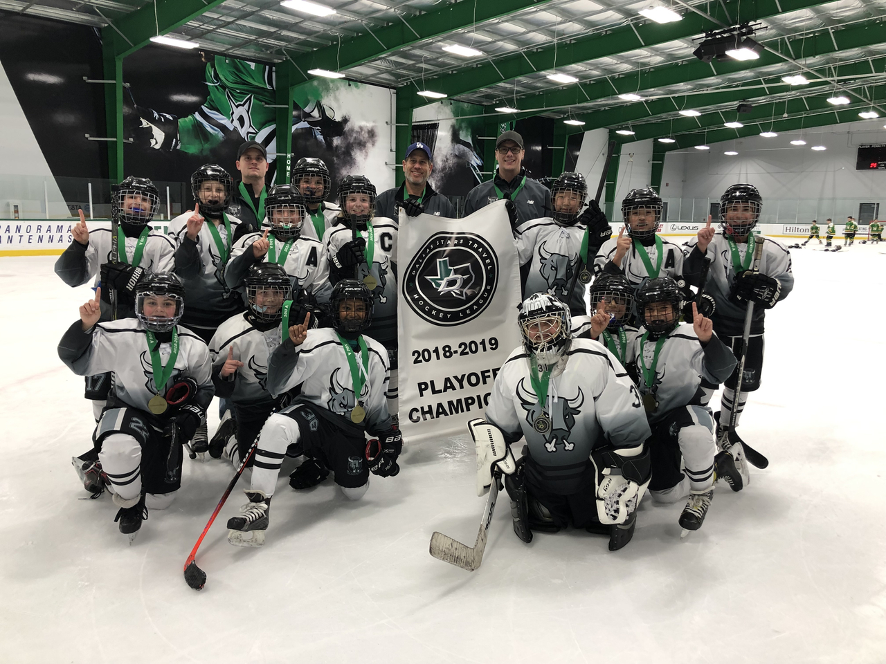 2019 Dsthl 10u A Playoff Champions Dallas Stars Travel Hockey League