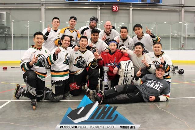 Home Vancouver Inline Hockey League