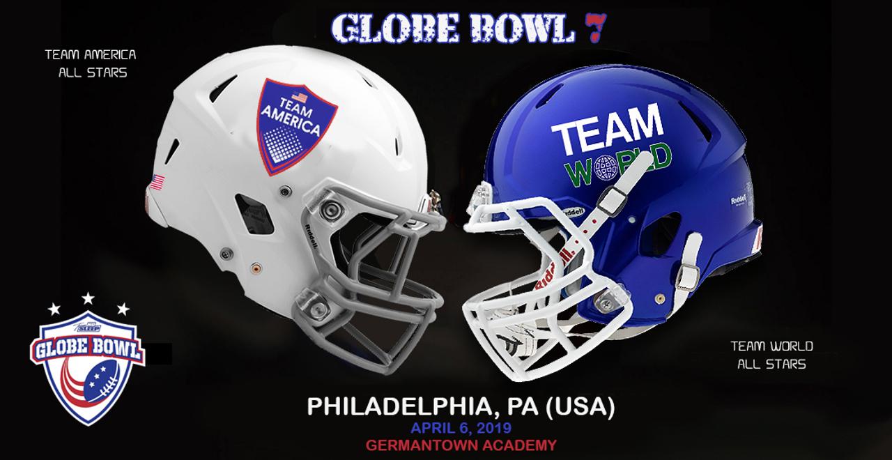 2019 Globe Bowl America v World - Globe Games by SPIRAL