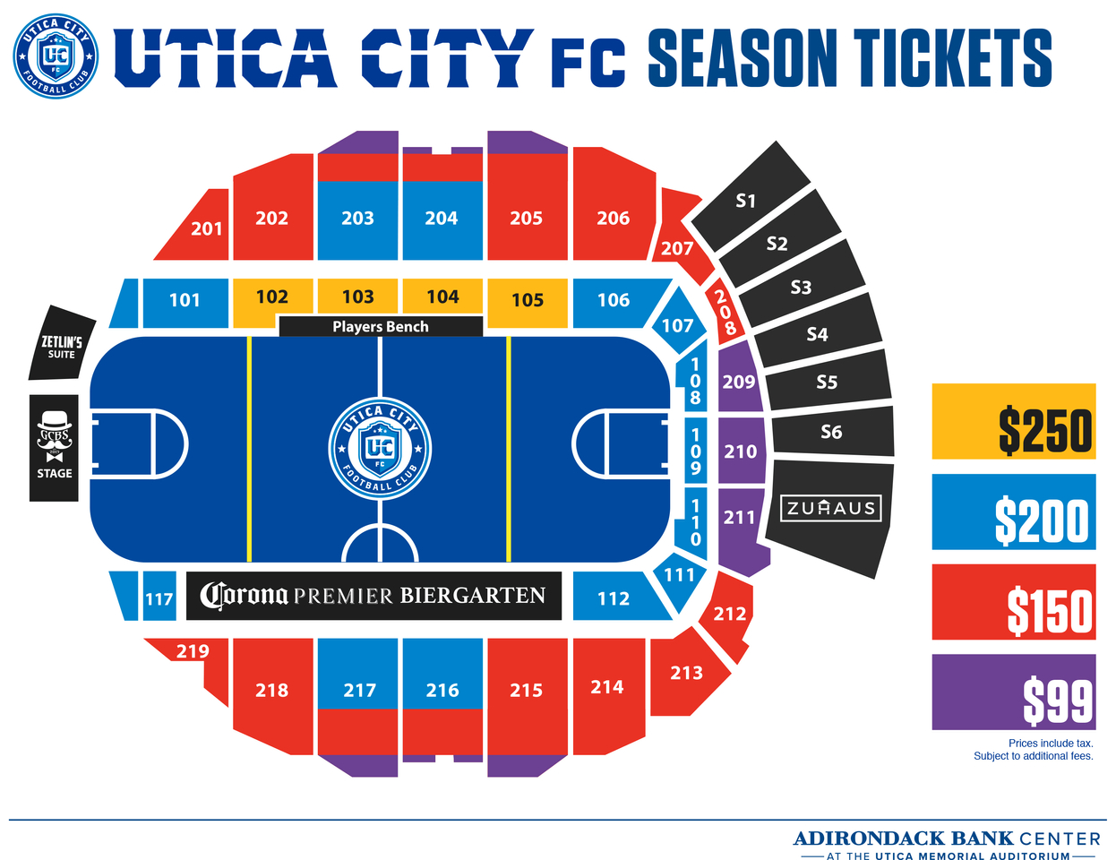 Tickets - Utica City FC