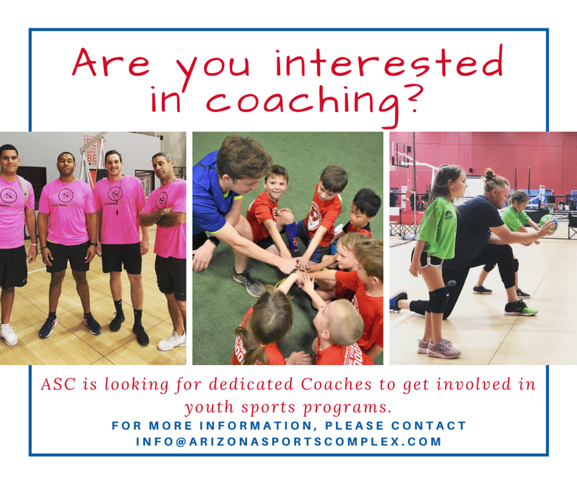 sports physical form 2019 arizona  Coaching Program - Become a Coach! - Arizona Sports Complex