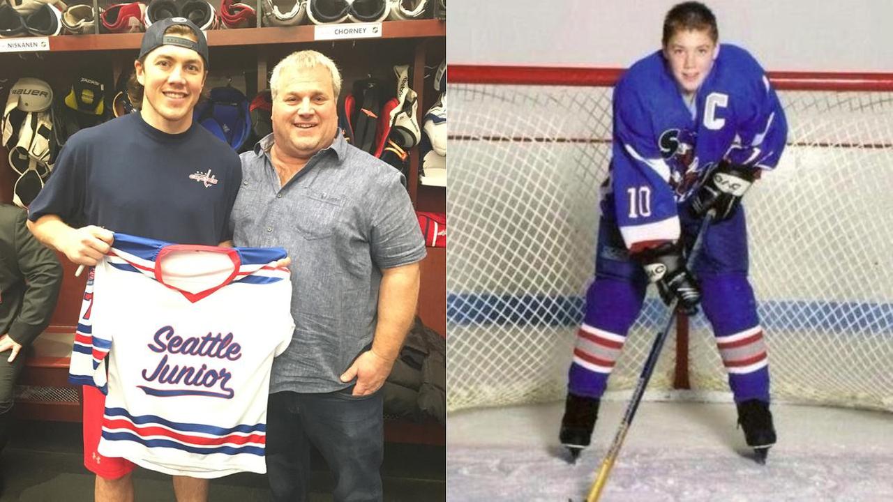 Mike Murphy Coaching T J Oshie Western States Hockey League