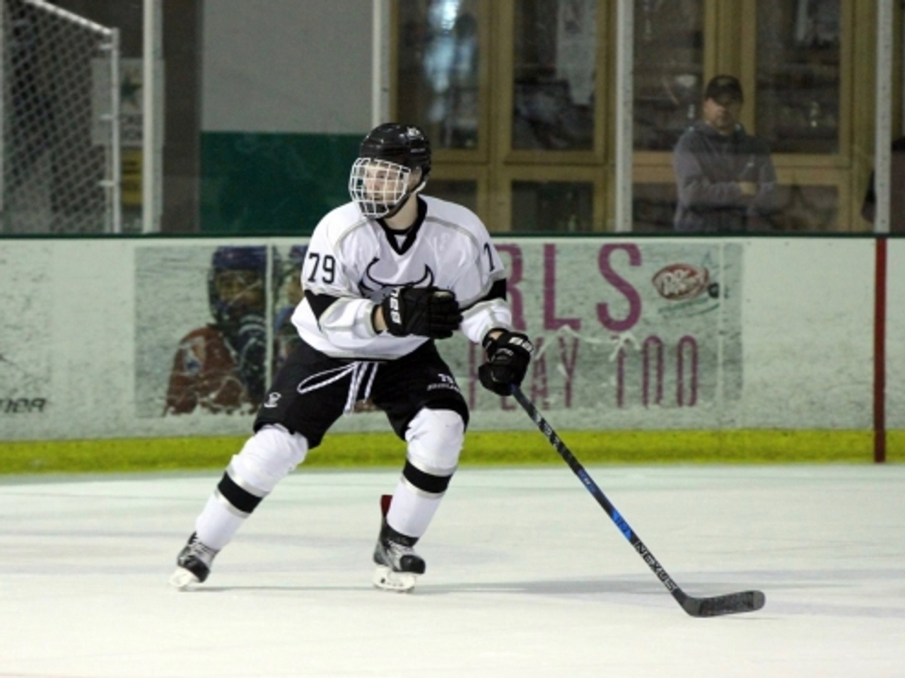 Snipers Ink Big Center Nick Fritz Western States Hockey League