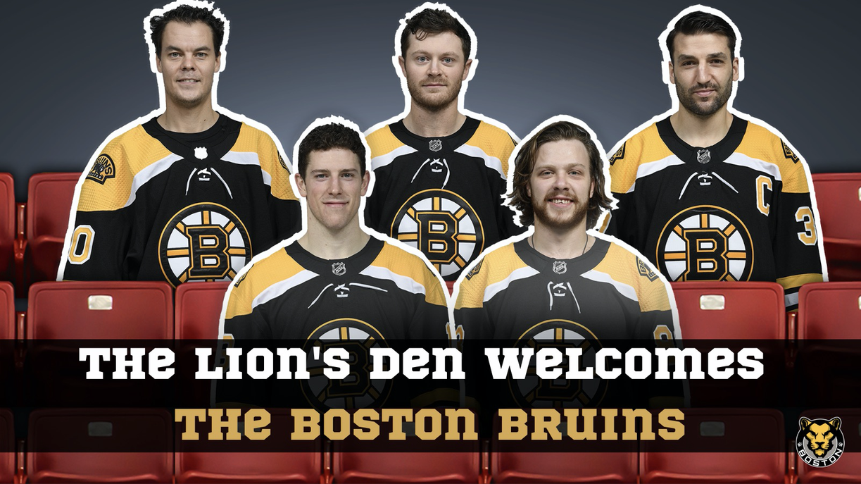 BOSTON BRUINS SUPPORT THE BOSTON PRIDE WITH FAN FACES DURING THEIR BUBBLE SEASON!