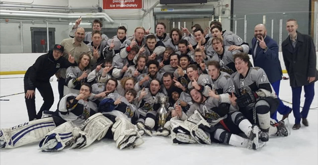 Stallions sweep Anglers, repeat as CPJHL President's Cup