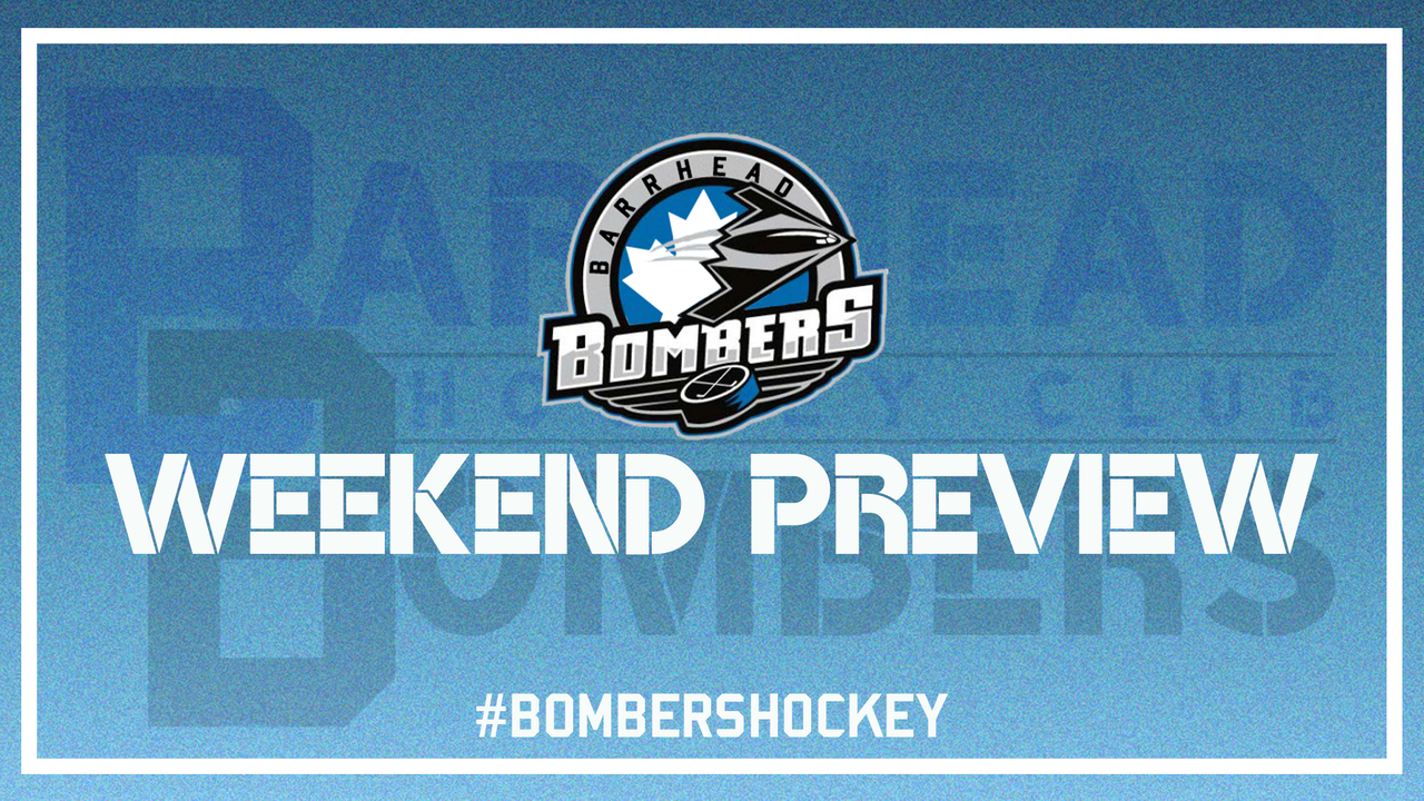 Bombers Weekend Preview 10 10 19 Barrhead Bombers