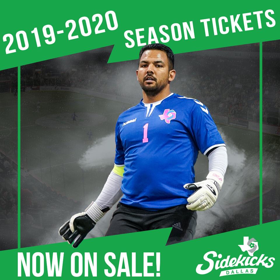 Dallas Sidekicks Season Tickets Now on Sale - Dallas Sidekicks