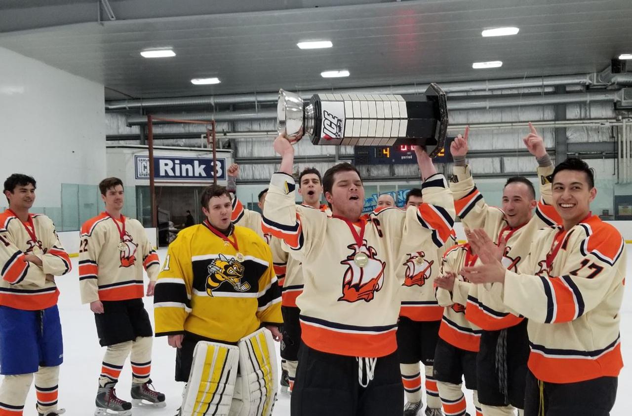 BTS wins Div 1 Championships - ICE604 Hockey League
