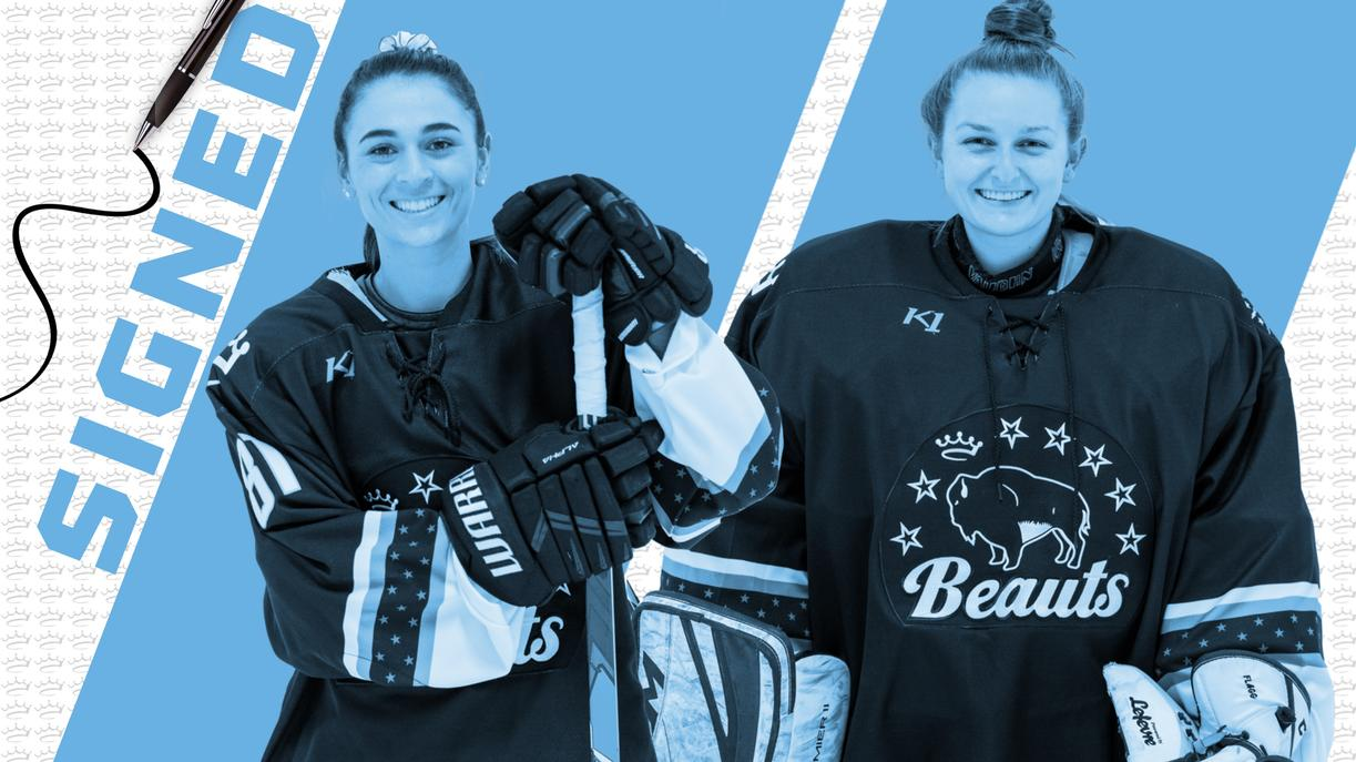 Beauts Re-Up Gehen & Flagg for 2021-22