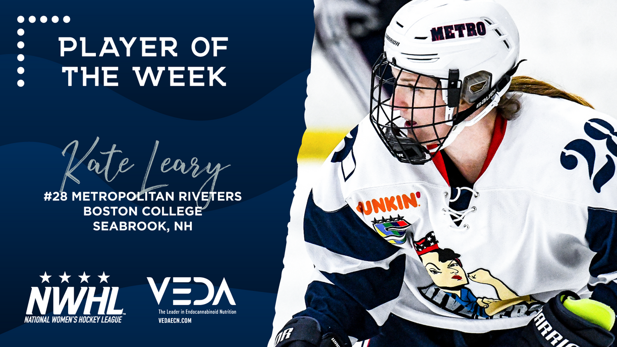 Rivs' Kate Leary Named VEDA Player of the Week