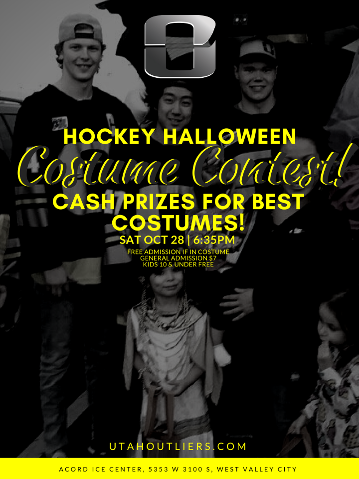 Hockey Halloween Costume Contest - Utah Outliers