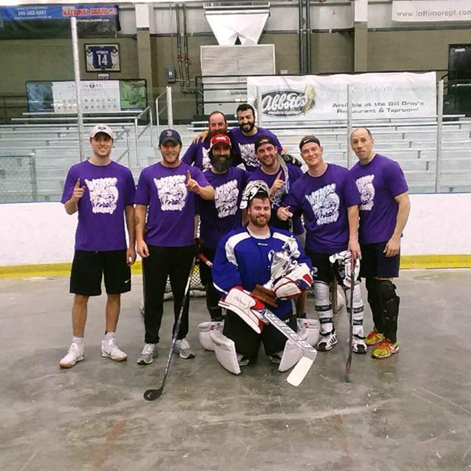 Ball Hockey League - The Iceplex Adult Hockey League